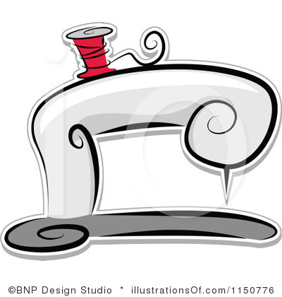 Sewing Machine clipart border #1