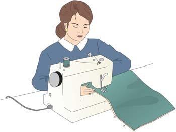 Women clipart tailor #1