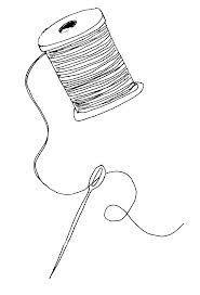 Needless clipart needle and thread  Sewing Craft Art thread