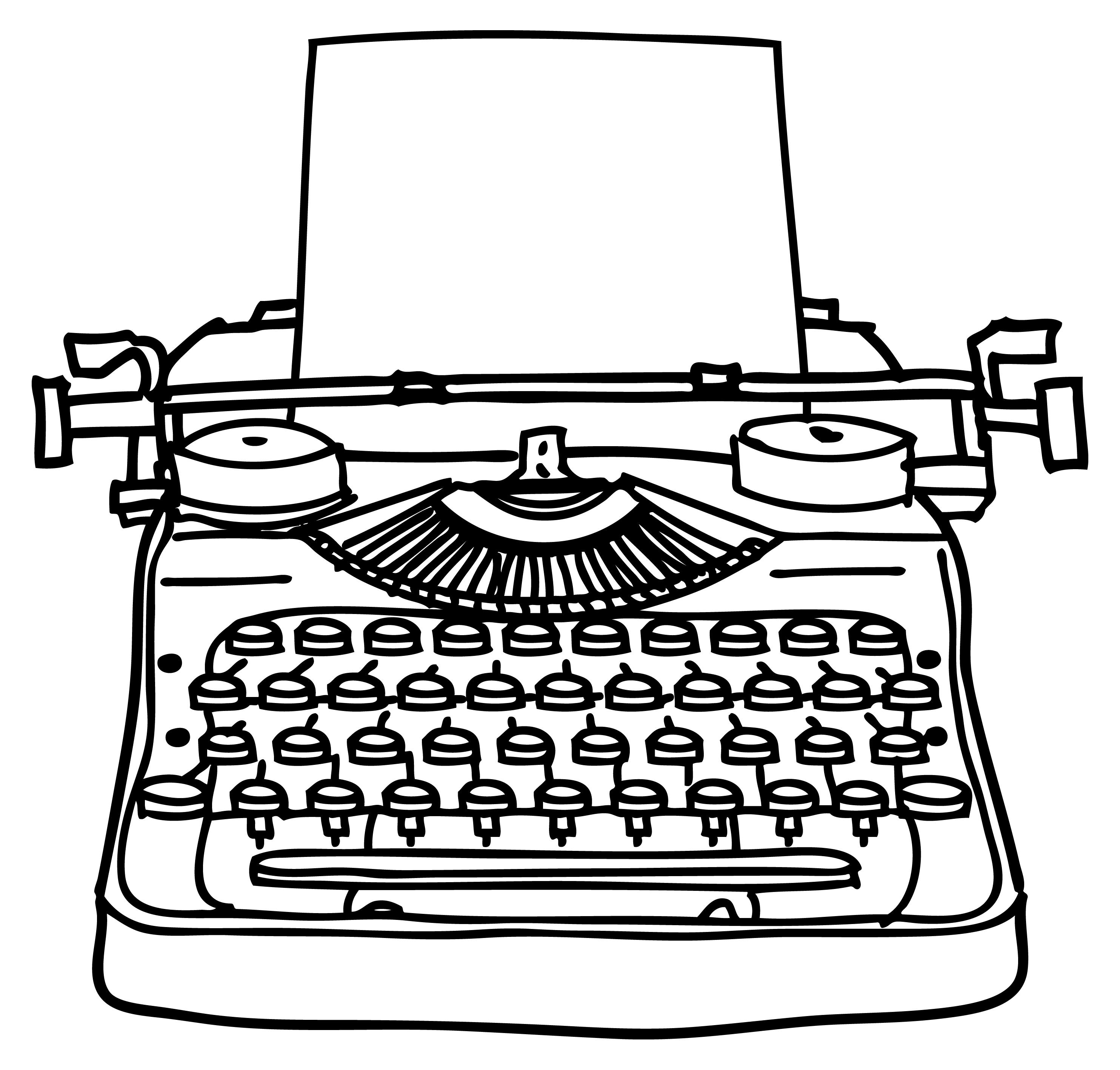 Drawn typewriter Typewriter Search Typewriter typewriter &