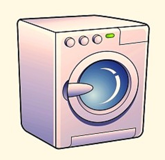 Machine clipart washine  Clipart Machine Washing