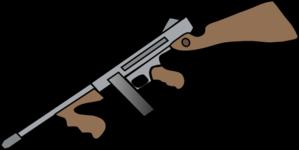Machine Gun clipart Art Thompson at Gun com