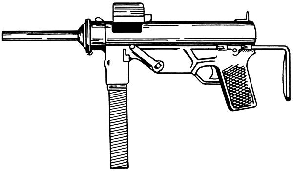Machine Gun clipart Art Machine Clip Gun Gun