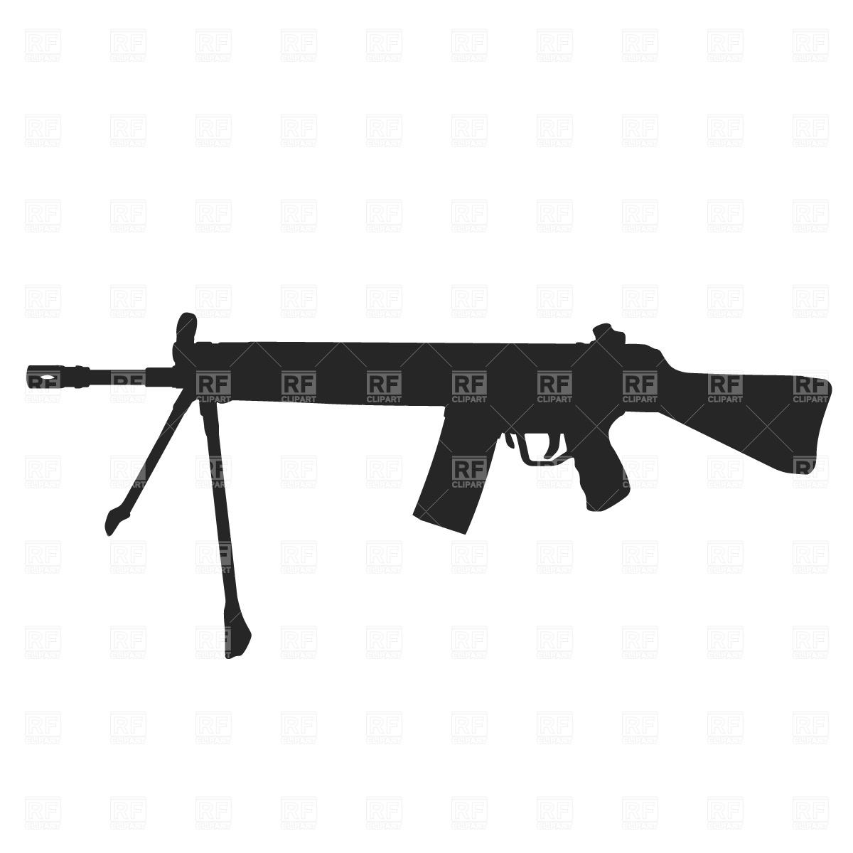 Machine Gun clipart Clip Free art #1570 Gun