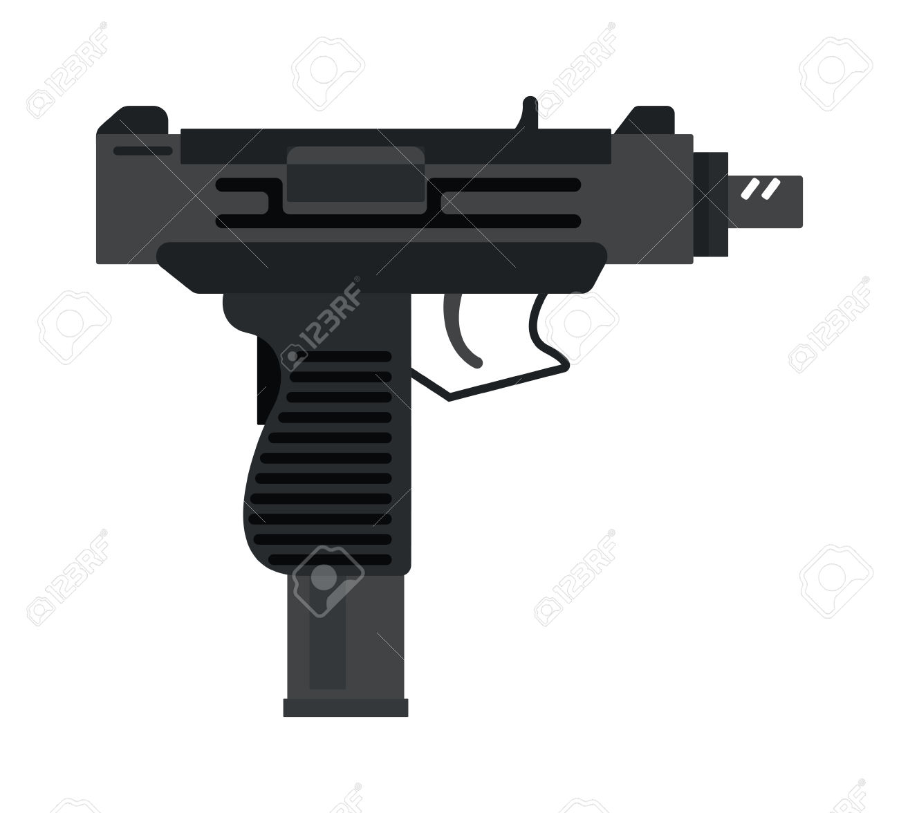 Shotgun clipart military weapon (1548) Free Clipart Clipartwork Images