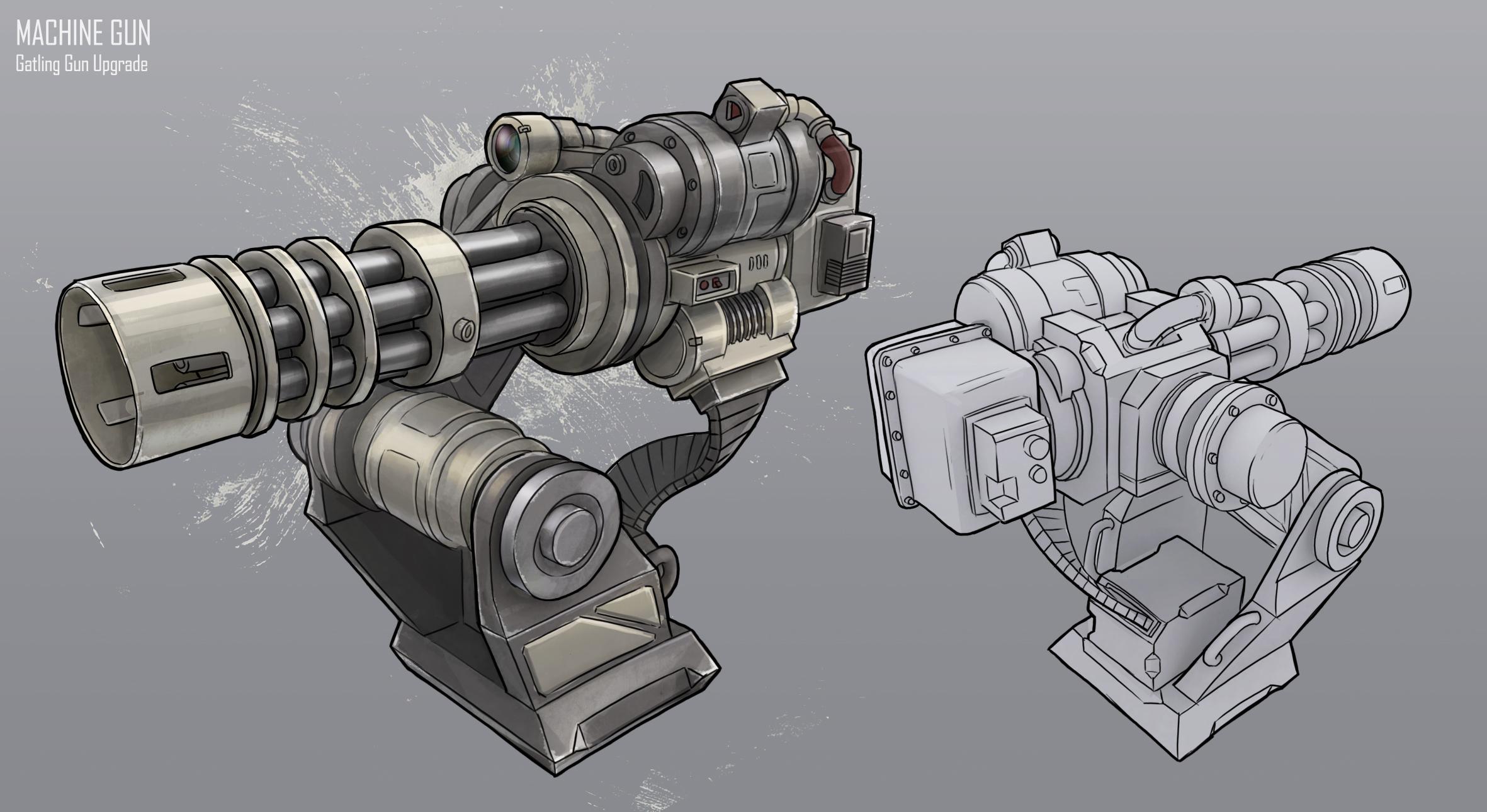 Machine Gun clipart turret 8 indiedb http://www http://www Pinterest