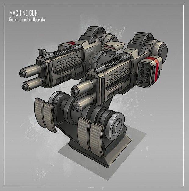 Machine Gun clipart turret Turret  Pinterest Gun on