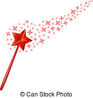 Falling Stars clipart magical star Magic Illustrations wand on 355