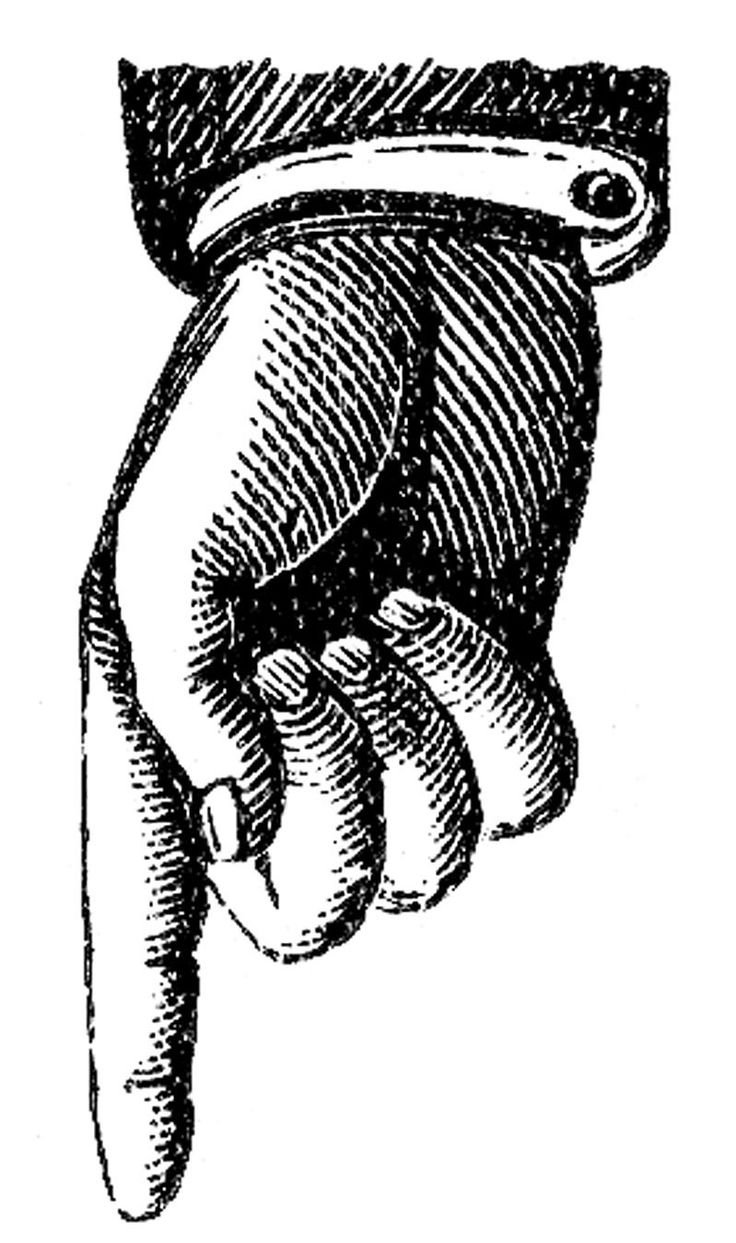 Magician clipart hand Free Clip Hand (for vintage