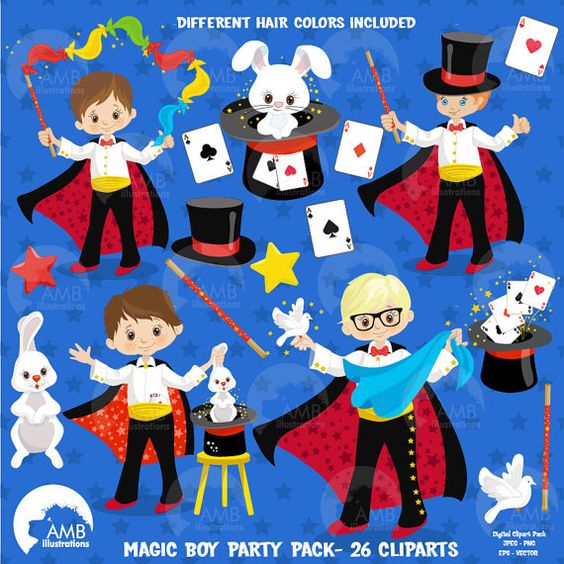 Magician clipart little Blast Boy Magician little