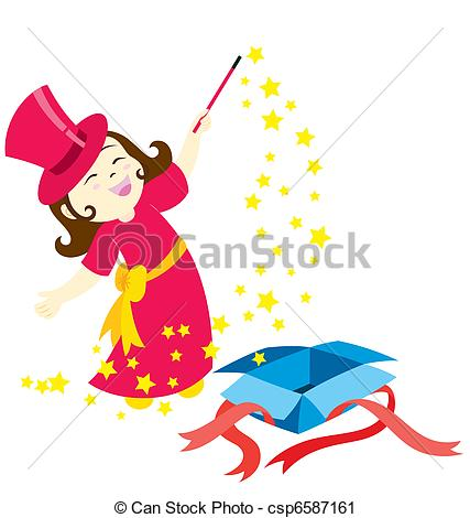 Magician clipart little A  Art The Magic