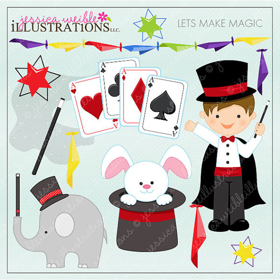 Card clipart magic Card Cute for for Scrapbooking