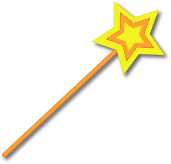 Yellow clipart wand Magic art Download wand ClipartAndScrap