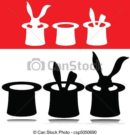 Magician clipart silhouette #13