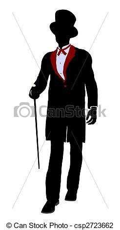 Magician clipart silhouette #4