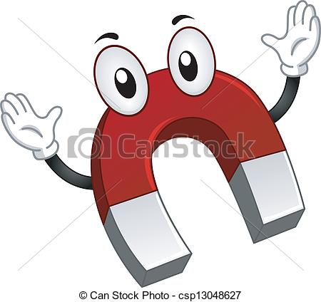 Magnetism clipart Mascot Images royalty Mascot Magnetism