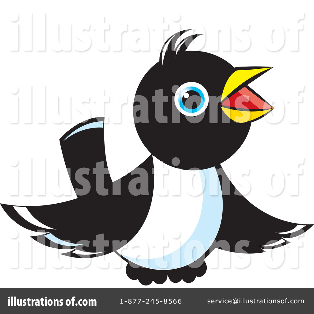 Magpie clipart Free #71638 (RF) Perera Lal