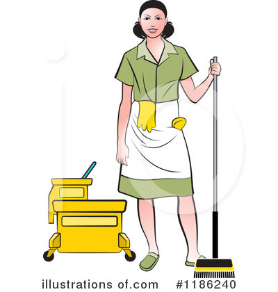 Women clipart janitor #1186240 Perera Royalty by by