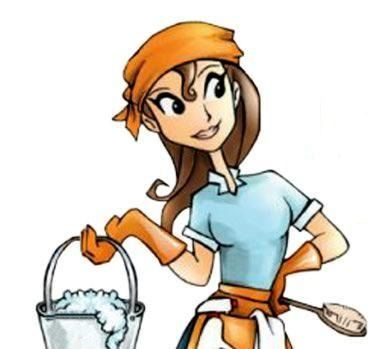 Women clipart cleaning bathroom Maid Maid Clipart Ladies cliparts