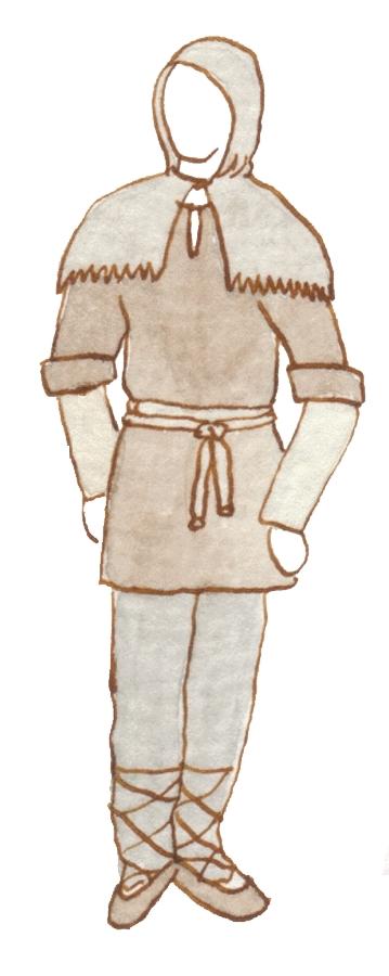 Maiden clipart medieval serf 082812»  Peasant Art Art