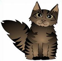 Maine Coon clipart Maine Coon Cats Clipart Maine