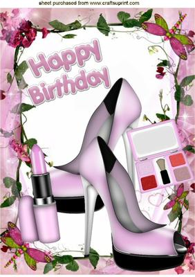 Makeup clipart basket On on WITH BIRTHDAY BIRTHDAY