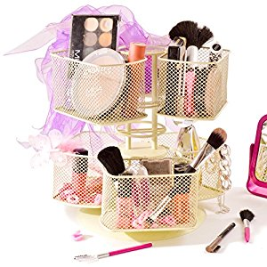 Makeup clipart basket Cosmetic Holder Jewellery Revolving Cosmetic