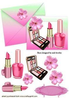 Makeup clipart basket ENVELOPE Pinterest MAKEUP Basket! SHADES