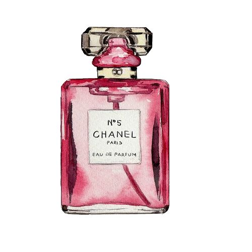 Makeup clipart chanel perfume Chanel: modern on mes 11