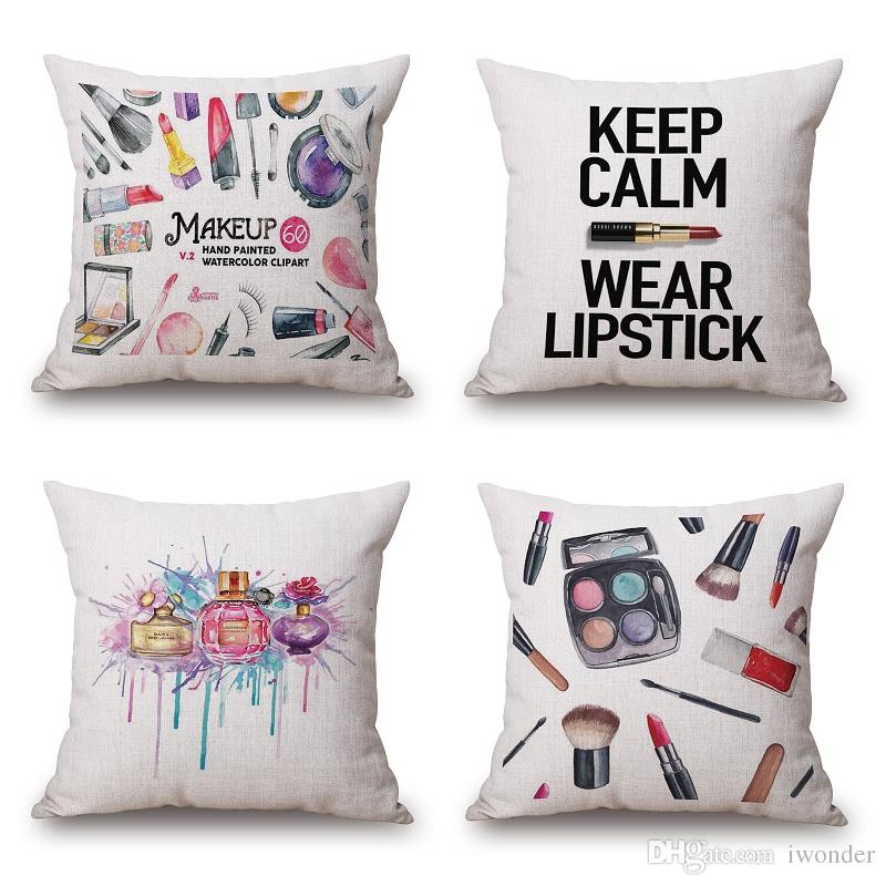 Makeup clipart cover photo Pillow See Makeup  Perfume