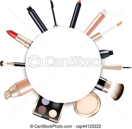 Makeup clipart frame Frame csp44120222 Frame Illustration Makeup