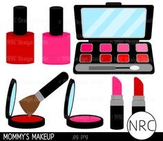 Makeup clipart girly Diva more Clipart Girly