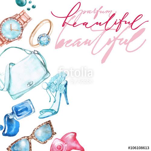 Makeup clipart jewelry Handbag