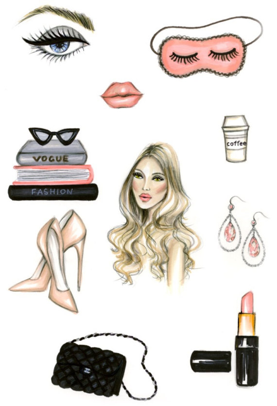 Makeup clipart jewelry Header Fashion Clipart Art Shoes