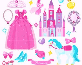 Makeup clipart jewelry Birthday Princess Digital art/ Design