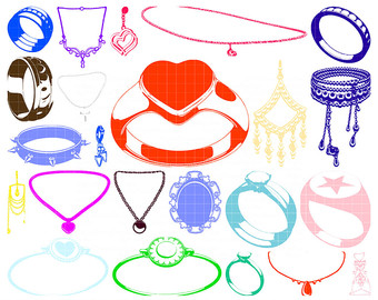 Makeup clipart jewelry Jewelry Jewelry Download Set Clipart