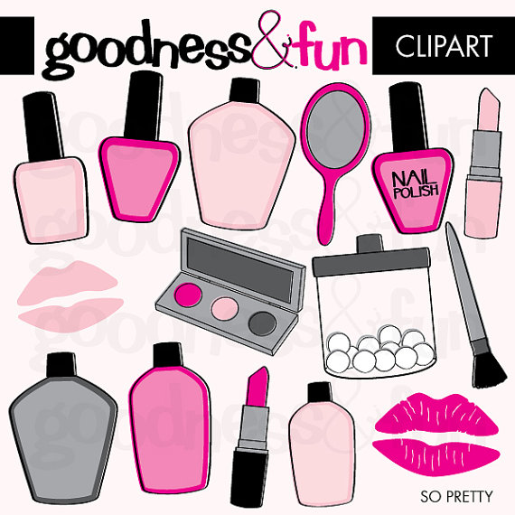 Makeup clipart makeover Vector free 1 Clipart Download