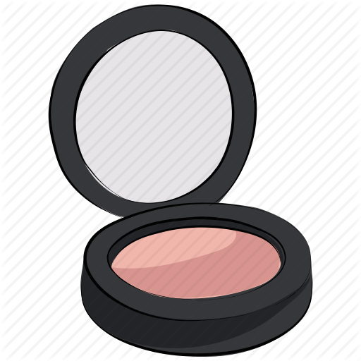 Makeup clipart powder Beauty product  on face
