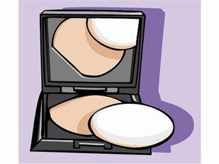 Makeup clipart powder On Compact Makeup Makeup Clip