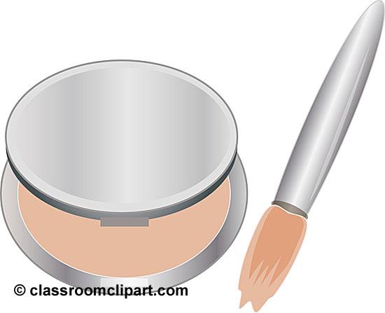 Makeup clipart transparent background Classroom Beauty jpg makeup_compact_brush_11 :