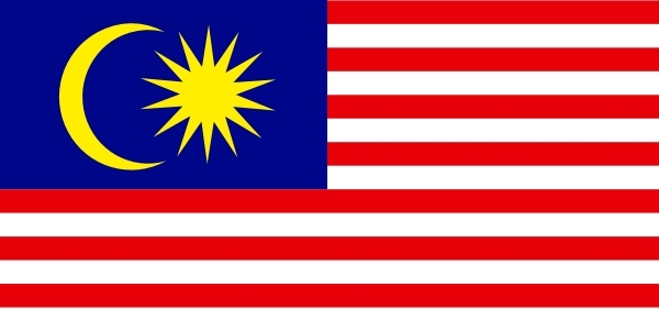 Malaysia clipart  clip svg Open drawing