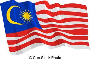 Malaysia clipart Flag 5 Malaysia Illustrations vector
