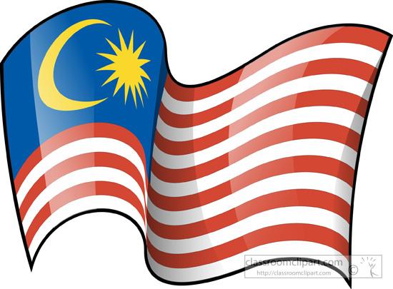 Malaysia clipart Flag Clipart flag 3 Malaysia