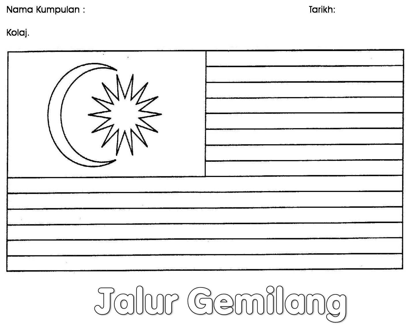 Malaysia clipart jalur gemilang Picture GEMILANG Page Bendera www