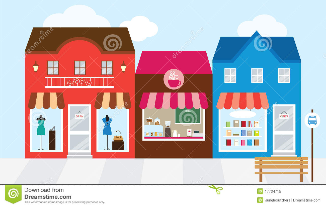 Mall clipart row shop Shopping Download Free clipart mall