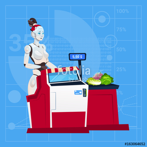Mall clipart cashier Cashier Mall In Intelligence Shopping