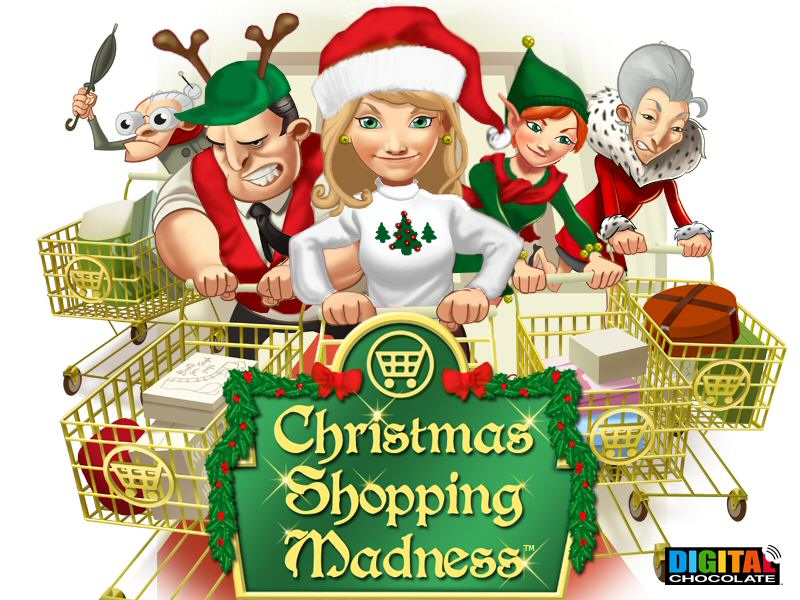 Mall clipart christmas shopping Minute Christmas retail Mall 2