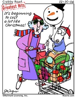 Mall clipart christmas shopping Pictures stress pictures maxine shopping