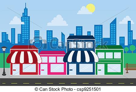 Mall clipart city building #1