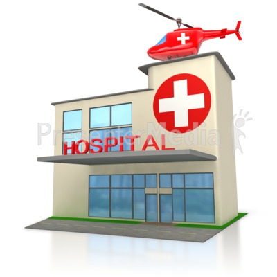 Art Free hospital Printable Clipart